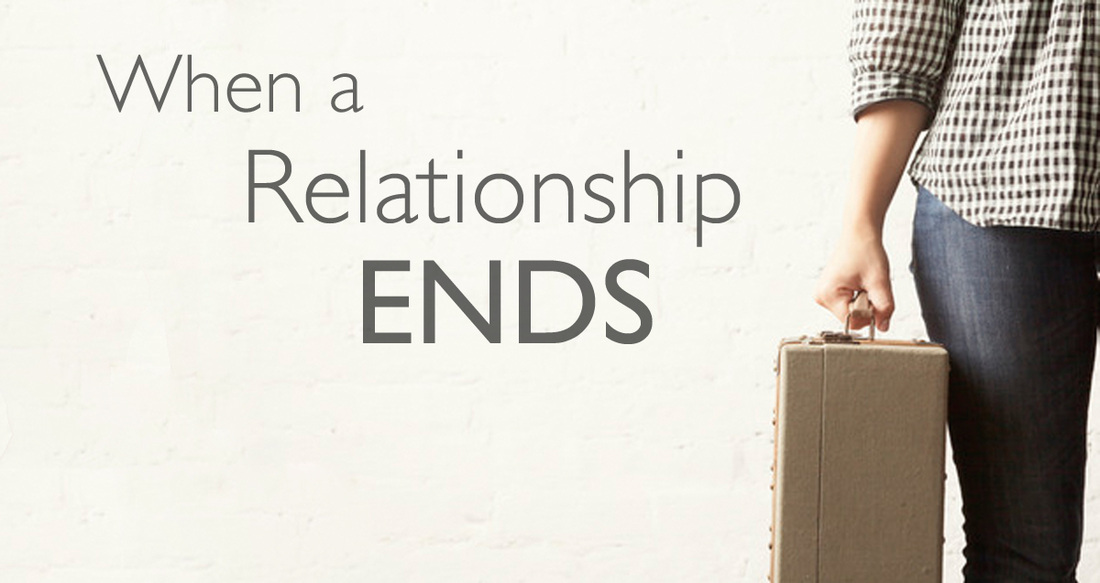 how to move on when a relationship ends